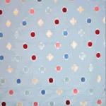 Daisy Embroidery - Blue - £ 31.95 per metre