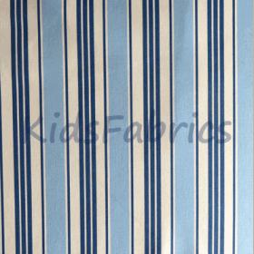 Deckchair - Blue Stripe - £ 11.50 per metre
