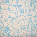 Destination - Powder Blue - £ 11.50 per metre