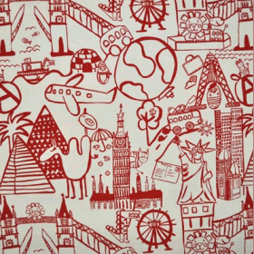 Destination - Red - £ 11.50 per metre