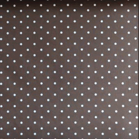 Dotty - Chocolate - £ 11.50 per metre