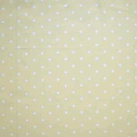 Remnant 986: Dotty - Lemon [0.60 metre] - £ 5.20 per metre