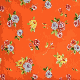 Remnant 1033: Ella - Orange [1.00 metre] - £ 9.70 Item price