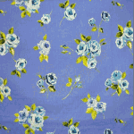 Ella Flower - Ink - £ 12.50 per metre