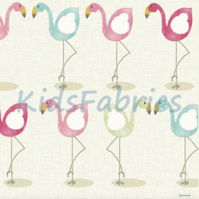 Flamingo - Pink - £ 12.95 per metre
