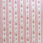 Remnant 1206: Floral Stripe - Chintz [1.20 metres] - £ 9.90 Item price