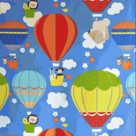 Flying High - Cobalt - £ 9.75 per metre