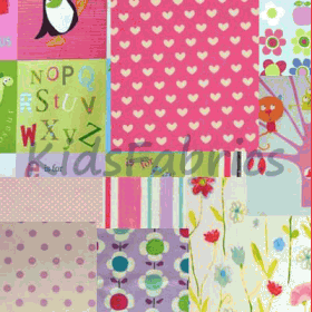 Selection fabric [Bundle] - [Girl] - £ 9.50 per pack