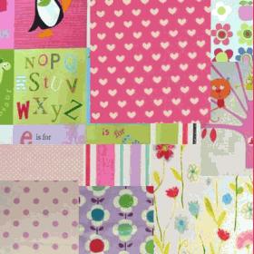 Selection fabric [Bundle] - [Girl] - £ 8.50 per pack