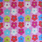 Happy Days - Pink - £ 9.75 per metre