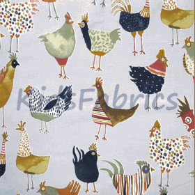Harriet Hen - Colonial - £ 11.95 per metre