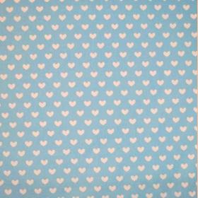 Heart - Powder Blue - £ 11.50 per metre