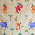 Hip Hippo Ray - Antique - £ 9.75 per metre