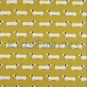 Hound Dog - Ochre - £ 13.95 per metre
