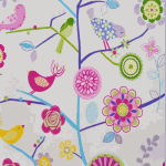 WALLPAPER: Lapwing - Lavender [part roll - 9 metres] - £ 18.00 ITEM PRICE