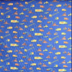 Little digger - blue - £ 6.95 per metre