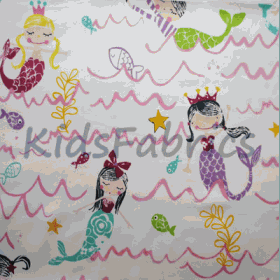 Mermaid - Pretty Pink - £ 11.95 Per Metre