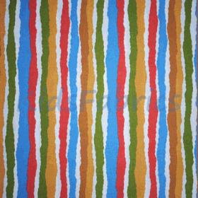 Midgy Stripe - Multi - £ 13.50 Per Metre