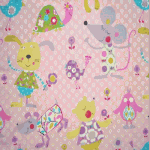 Remnant 1074:  Mitsy Mouse - Candy [0.85 metre - £5.30] - £ 6.60 Item price