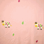 Moo Moo Cow - Pink - £ 18.00 per metre