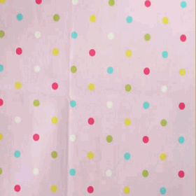 Multi spot - Pink - £ 12.50 per metre