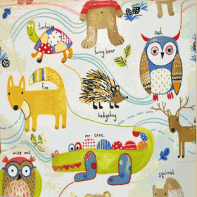 Nature Trail - Paintbox - £ 11.50 per metre