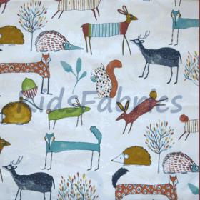 Oh My Deer - Marmalade - £ 11.95 per metre
