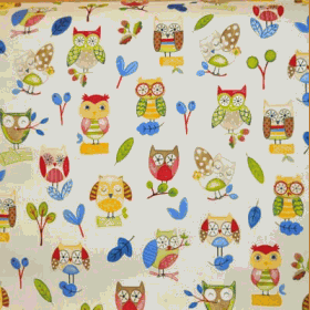 Ollie Owl - Paintbox - £ 12.50 per metre