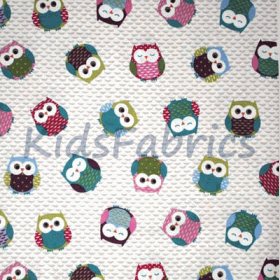 Owls - Multi - £ 11.95 Per Metre