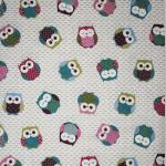 Owls - Multi - £ 10.50 Per Metre