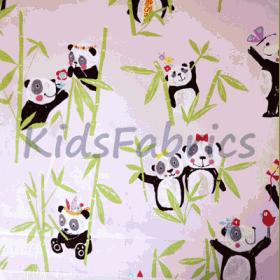 Panda - Pink - £ 11.50 Per Metre