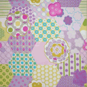 Remnant 1294: patchwork - Candy [3.6 metres] - £ 27.00 ITEM PRICE