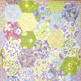 Picnic Patchwork - Lavender - £ 10.95 per metre