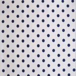 WALLPAPER: Polka dot - Denim - £ 25.00 per roll