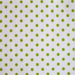WALLPAPER: Polka dot - Lime - £ 24.50 per roll