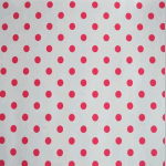 WALLPAPER: Polka dot - Peony - £ 24.50 per roll
