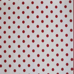 WALLPAPER: Polka dot - Red - £ 25.00 per roll