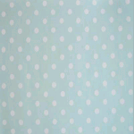 WALLPAPER: Polka dot - Turquoise - £ 24.50 per roll