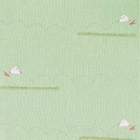 Remnant 1237: Run Rabbit -Green Check [1.50 metre] - £ 18.50 Item price