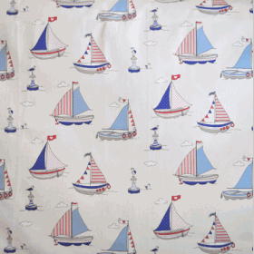 Sailing Regatta - Blue - £ 11.50 per metre