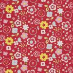 Retro Floral - Multi - £ 12.95 per metre
