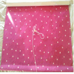 Roller Blind: Dot - Pink - £ 59.00 Item price
