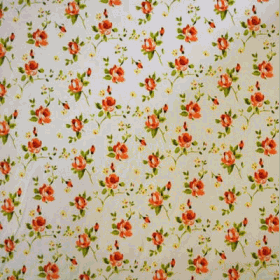 Remnant 1028: Rosebud - Orange [1.0 metre] - £ 7.50 ITEM PRICE