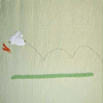 Remnant 933: Run Rabbit Run - Green [1.20 metres] - £ 19.00 per metre