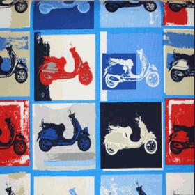 Scooter - Mod - £ 12.95 per metre