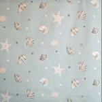 Sea Shells - Mineral - £ 11.95 per metre
