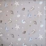 Sea Shells - Mist - £ 11.95 per metre