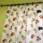 Curtains - Spike Primary - £ 75.00 per item