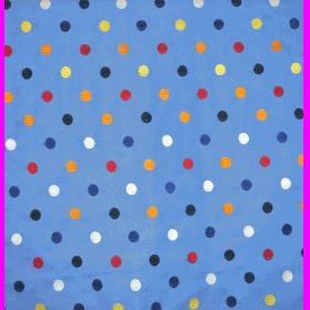 Spit Spot - Cobalt - £ 21.95 per metre