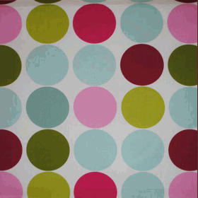 Remnant 1239: Spot On - Fuchsia [0.45 metre] - £ 4.20 Item price